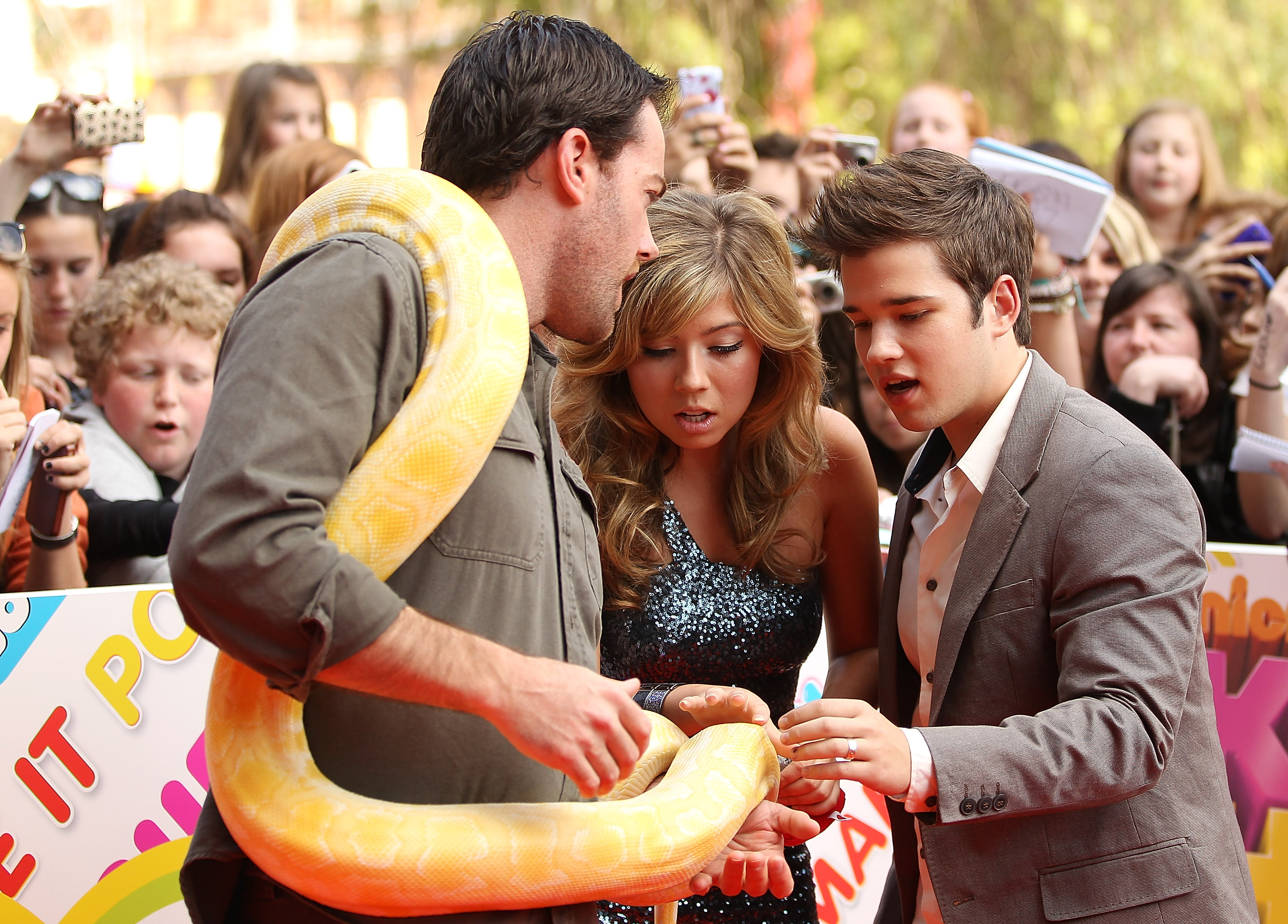 Ben Britton, Jennette McCurdy and Nathan Kress