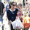 Jennifer Garner &amp; Violet Affleck Visit American Girl Cafe Pictures