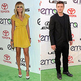 Nicole Richie and Justin Timberlake Walk the Green Carpet at the Environmental Media Awards