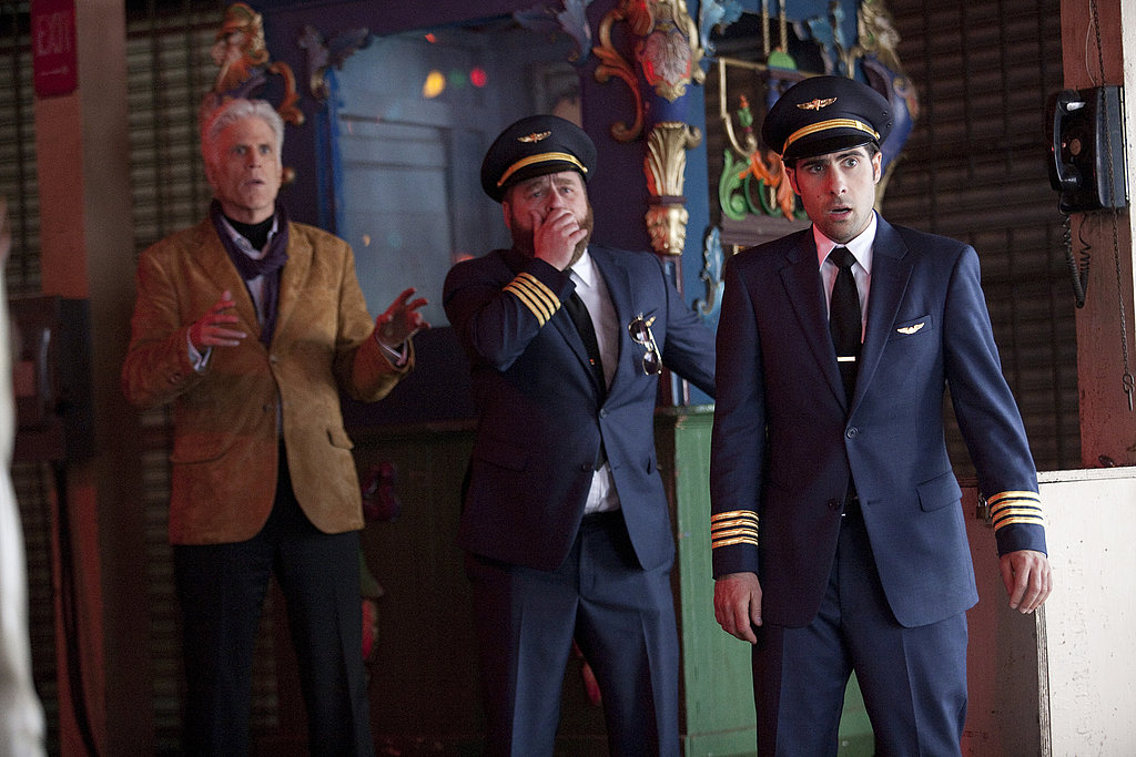 Ted Danson as George Christopher, Jason Schwartzman as Jonathan Ames, and Zach Galifianakis as Ray Hueston on Bored to Death.  Photo courtesy of HBO