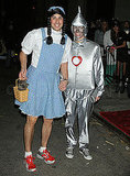 Dorothy and the Tin Man Jason Biggs and his wife put a gender-bending twist on their Wizard of Oz characters. (We suggest a quick leg-shave, though.)