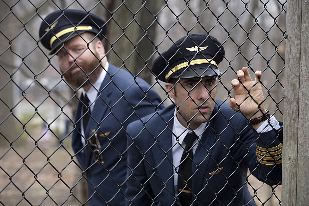 Jason Schwartzman as Jonathan Ames and Zach Galifianakis as Ray Hueston on Bored to Death.  Photo courtesy of HBO
