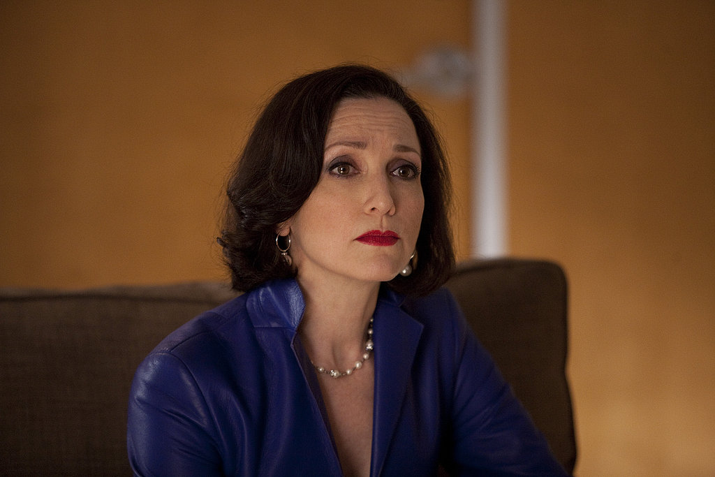 Bebe Neuwirth as Caroline Taylor on Bored to Death.  Photo courtesy of HBO