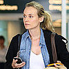 Diane Kruger Pictures in Vancouver For Canada Thanksgiving