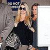Jessica Simpson Pictures at LAX Amid Baby Rumors