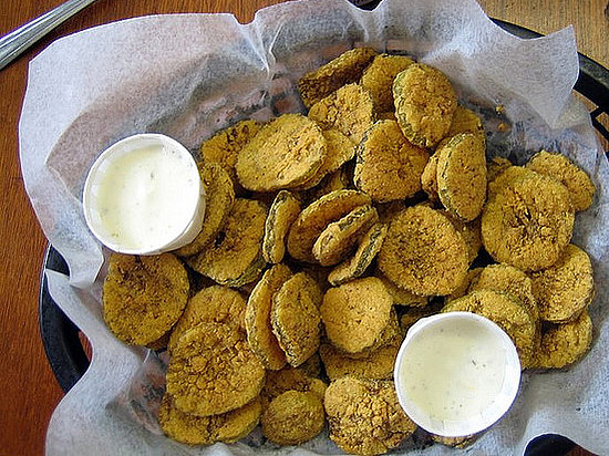Would you try deep-fried dill pickles?