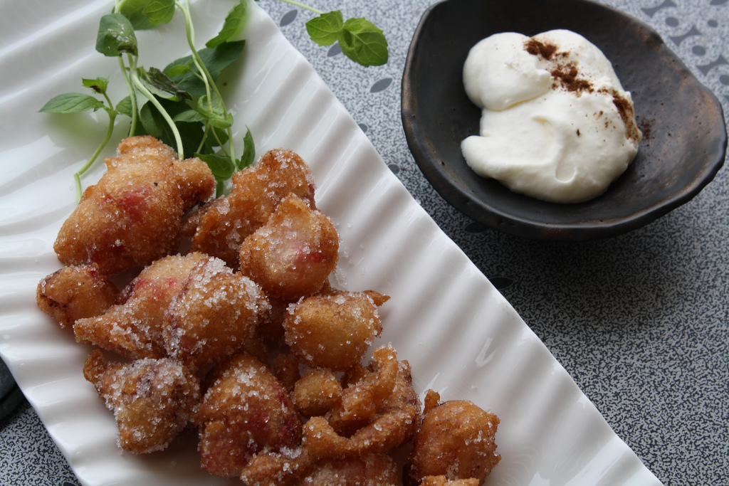 Would you try deep-fried strawberries?