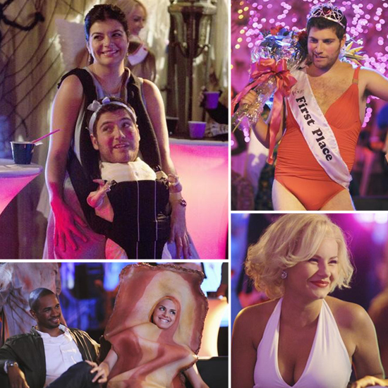 See the Happy Endings Cast Dressed Up For Halloween!