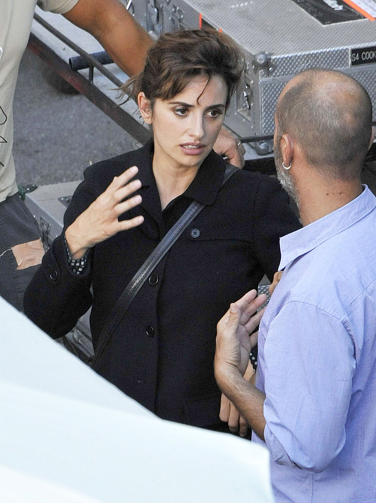 Penelope Cruz talked with the director of her latest film, Venuto al Mondo.