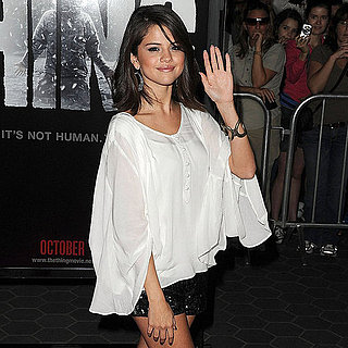 Selena Gomez Short Shorts Pictures at The Thing LA Premiere