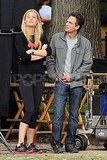 Mark Ruffalo watched Gwyneth Paltrow prepare for a scene.