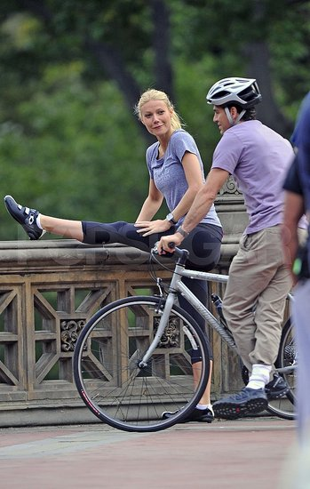 Gwyneth Paltrow Throws on Spandex to Start on Her Raunchy Comedy