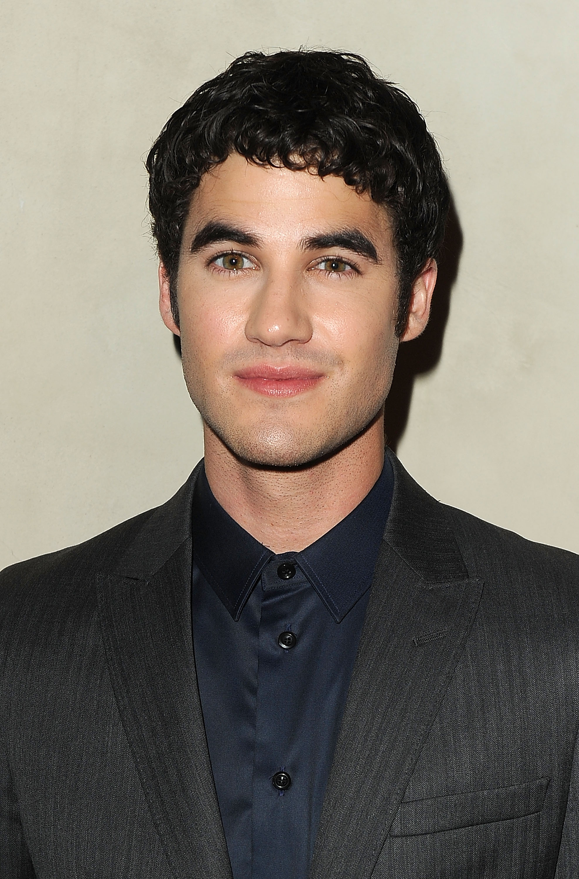 Darren Criss joined his Glee castmates at a private dinner in LA.