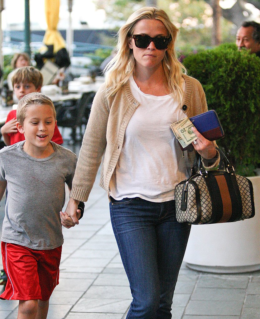 Deacon Phillippe was in high spirits out in LA with Reese Witherspoon.
