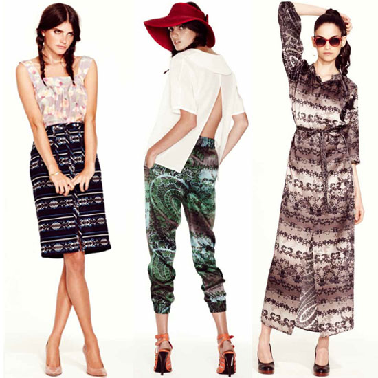 See Tucker's Cool Prints For Spring '12