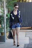 Rachel Bilson out after lunch with Hayden Christensen.