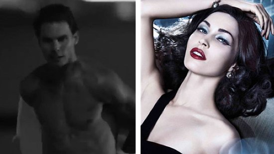 Video: Shirtless Rafael Nadal and Glamorous Megan Fox Star in New Armani Ads