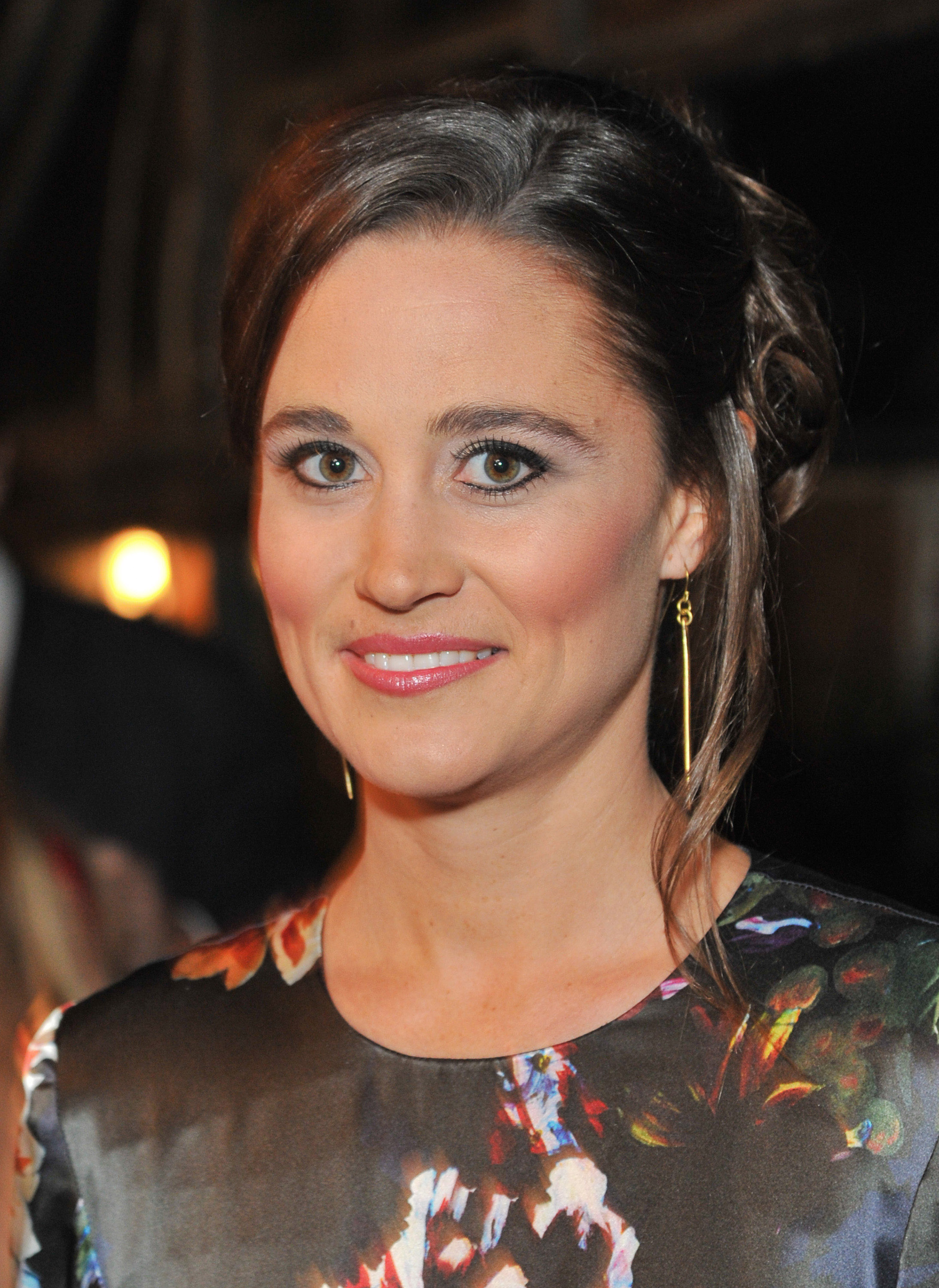Pippa Middleton at an All Saints charity event in London.
