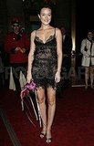 Leighton Meester wore a sheer dress to a masked ball thrown by Roberto Cavalli during 2007 in NYC.