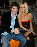 John Mayer and Heidi Klum joked around following 2003's A Funny Thing Happened on the Way to Cure Parkinson's benefit dinner.
