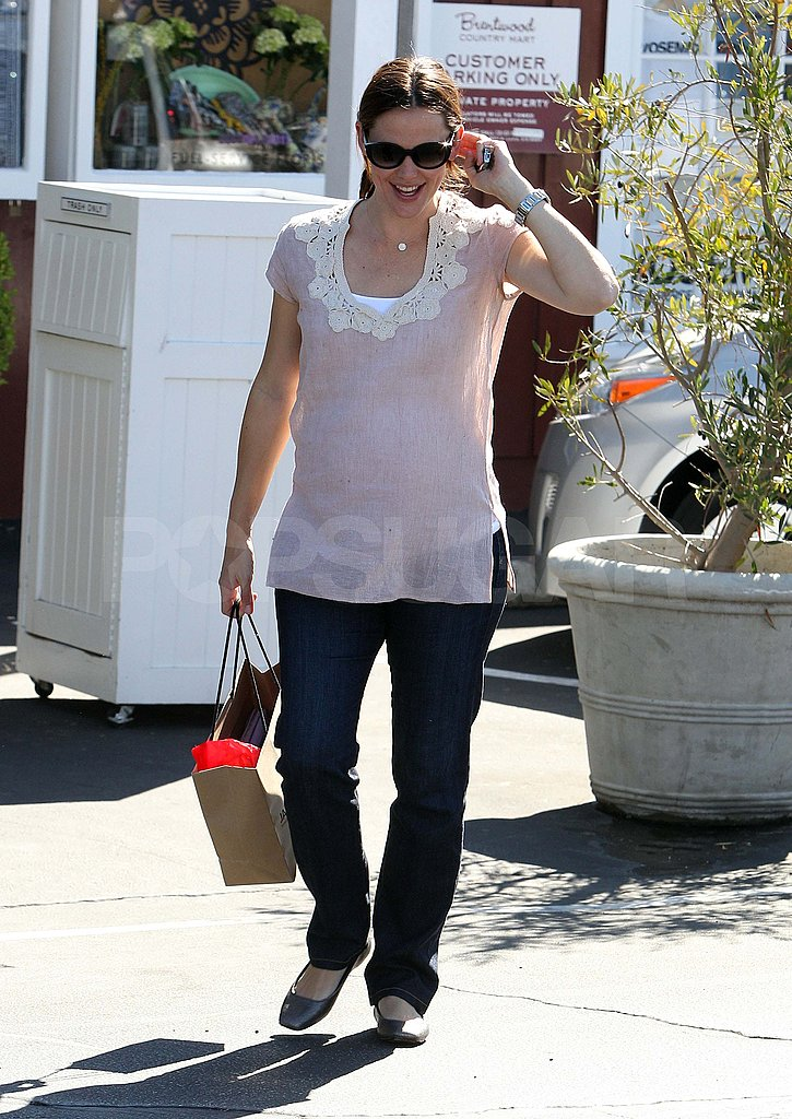 Jennifer Garner shopping in LA.