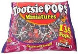 Tootsie Pops Miniatures ($9 for 200)
