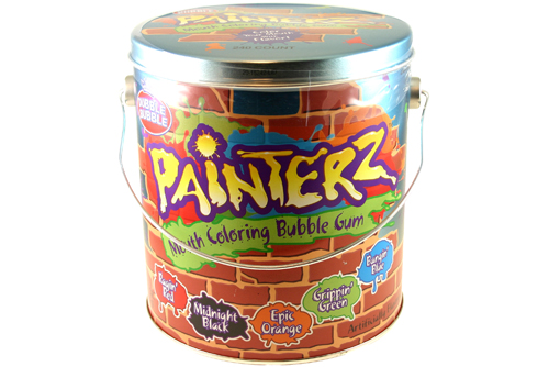 Dubble Bubble Painterz Mouth Coloring Bubble Gum ($17 for 240)