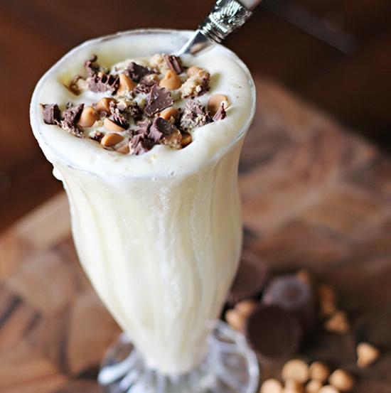 Frothy Protein Milkshake