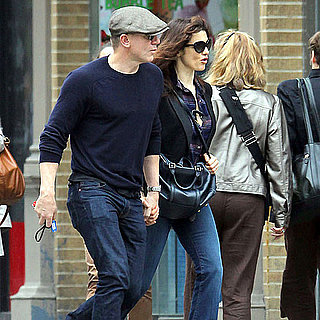 Daniel Craig and Rachel Weisz Pictures Showing PDA