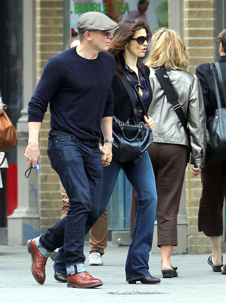 Daniel Craig and Rachel Weisz held hands in a stroll.