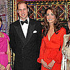 Prince William and Kate Middleton Pictures at Charity Dinner