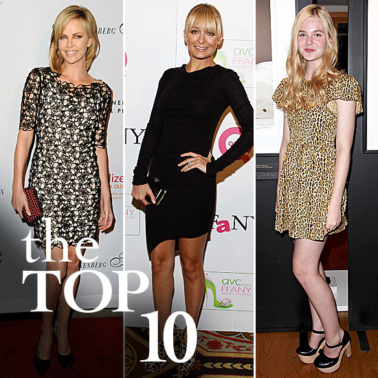 Fab's Top 10 Celebrity Looks of the Week — Charlize, Nicole, Elle, and More!