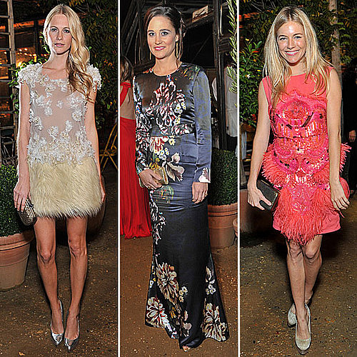 Pippa Middleton, Sienna Miller at All Saints Charity Event