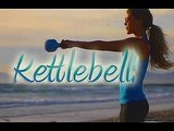 kettlebell workout routine, fitness, tone up