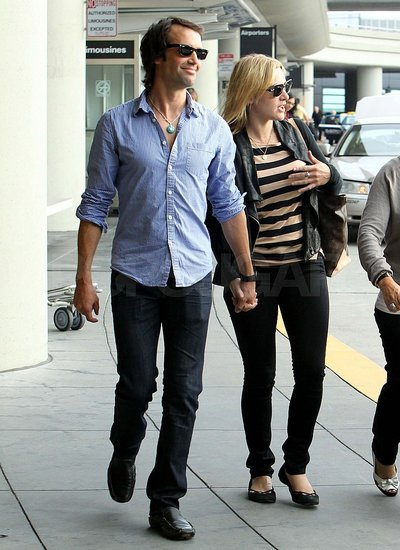 Kate Winslet and Rumored Boyfriend Ned Rocknroll Touch Down in San Francisco Holding Hands