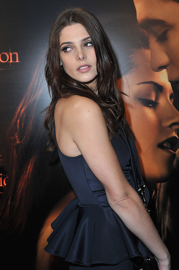 Ashley Greene at the Breaking Dawn premiere in Paris.