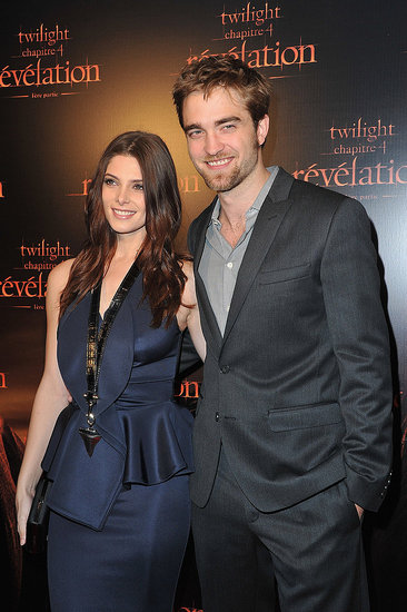 Robert Pattinson Trims His Beard For a Breaking Dawn Premiere With Ashley Greene