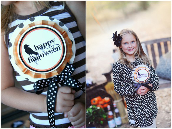 Spooky Halloween Sign Tutorial and Free Printable