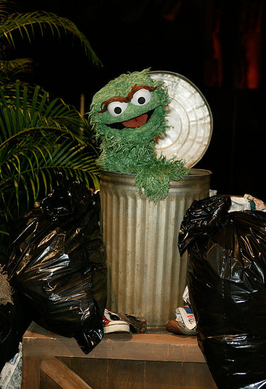 "Oscar the Grouch vs. ""Pox"" News"