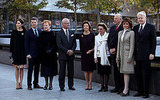 Princess Mary and Prince Frederik pay a visit to the National September 11 Memorial on Oct. 21.