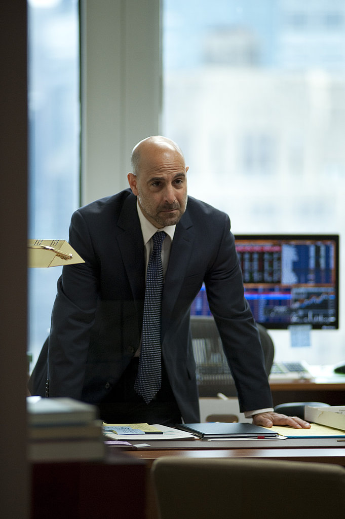 Stanley Tucci in Margin Call.  Photo courtesy of Roadside Attractions