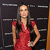 Demi Moore Red Dress Pictures at NYC Margin Call Premiere