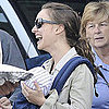 Natalie Portman and Baby Aleph at Farmers Market Pictures