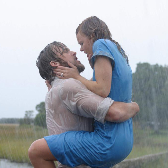 The rain kiss between Ryan and Rachel in The Notebook has definitely earned its reputation as one of the best movie kisses of all time.