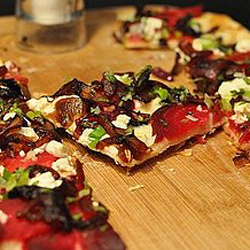 Beet and Goat Cheese Pizza Recipe