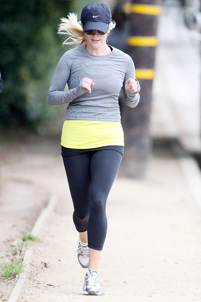 Reese Witherspoon wearing a Nike hat.