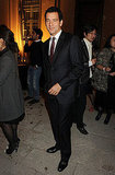 Clive Owen attended a party in Milan.