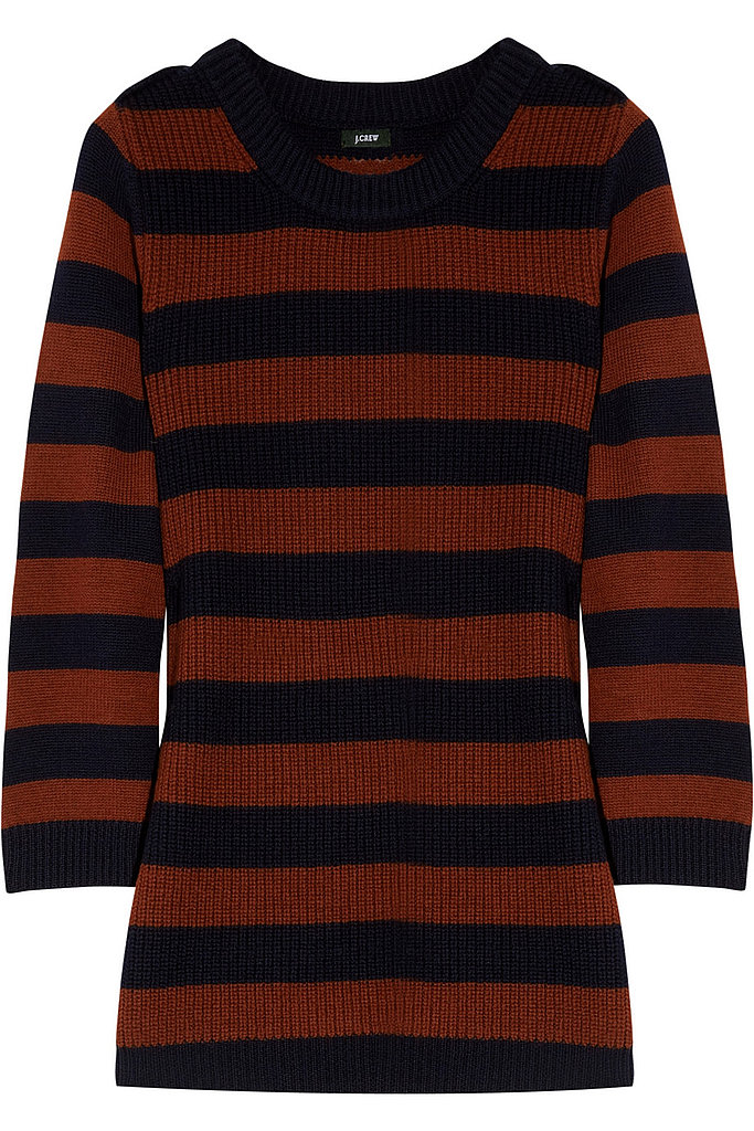 The stripes scream prep school staple. J.Crew Haylen Striped Wool Sweater ($110)
