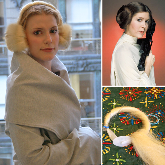 DIY Halloween: Super-Easy Princess Leia Hair