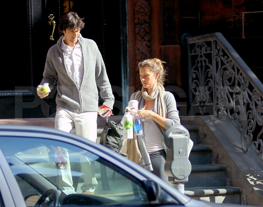 Gisele Bundchen ran errands in Boston.
